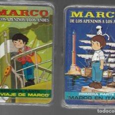 Barajas de cartas: DOS BARAJAS MARCO DE LOS APENINOS A LOS ANDES, 1ª Y 2ª PARTE. NUEVAS.. Lote 261916355