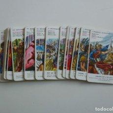Jeux de cartes: BARAJA INFANTIL FOURNIER HISTORIA DE ESPAÑA AÑO 1964 - FALTAN 2 CARTAS. Lote 201227550