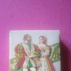 Barajas de cartas: BARAJA TRAJES FRANCESES 55 CARTAS EN SU ESTUCHE. Lote 201243105