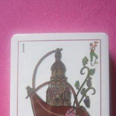Barajas de cartas: BARAJA VINOS CAPEL CARTAS NUEVA SIN ABRIR. Lote 201243422