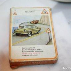 Barajas de cartas: BARAJA SEÑALES DE TRAFICO . Lote 201275070