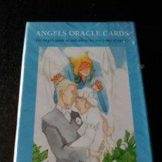 Barajas de cartas: LA SIBILA DE LOS ANGELES. ANGELES ORACLE CARDS.PRECINTADO.. Lote 201333163