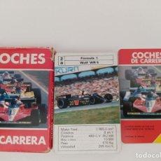Jeux de cartes: COCHES DE CARRERAS.FOURNIER.AÑOS 80.COMPLETA CON CAJA.USADA.INTERESANTE.. Lote 201563218