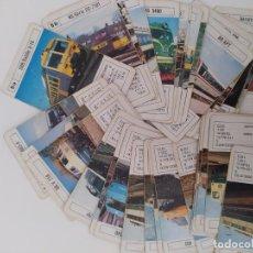 Jeux de cartes: TRENES DEL MUNDO.FOURNIER.AÑOS 80.COMPLETA SIN CAJA. USADA.INTERESANTE.. Lote 201563401