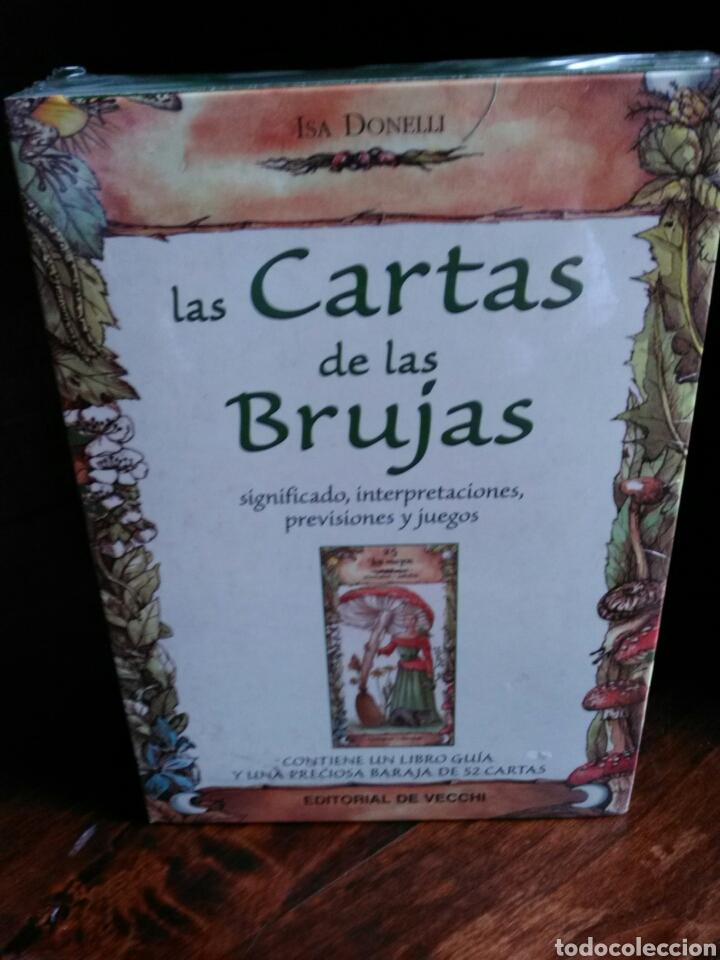MUY DIFÍCIL! LAS CARTAS DE LAS BRUJAS. ISA DONELLI.EDITORIAL DE VECCHI. (Juguetes y Juegos - Cartas y Naipes - Barajas Tarot)