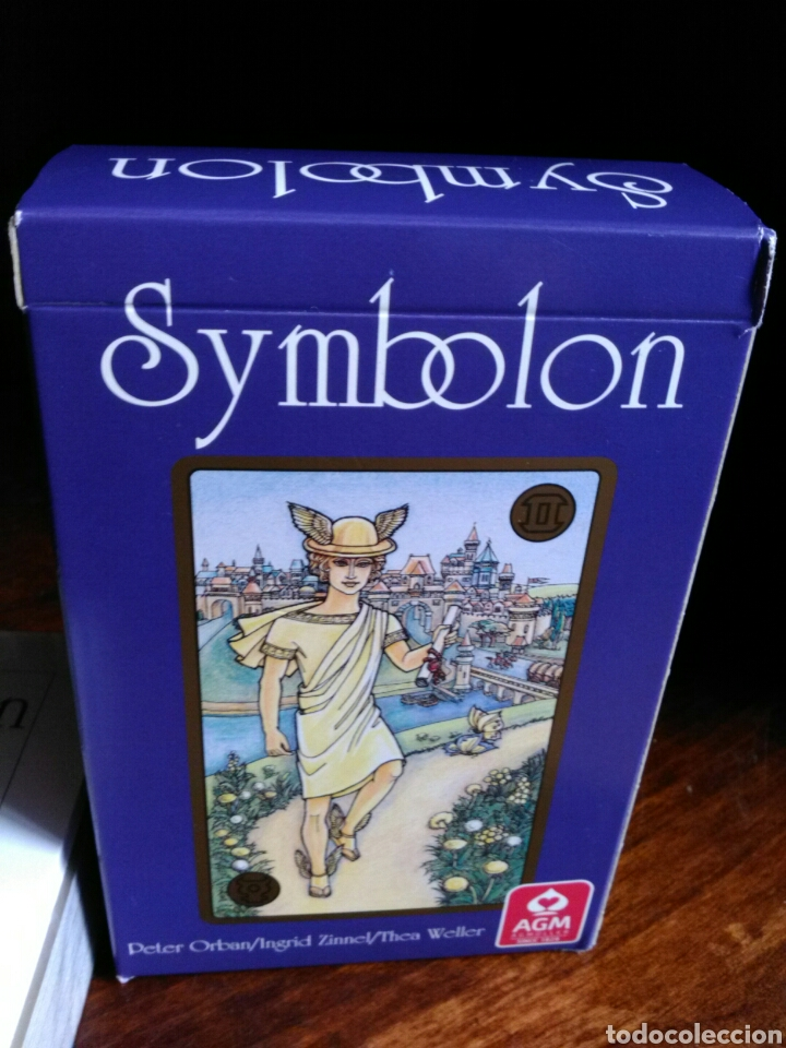 NUEVO! TAROT SYMBOLON. PETER ORBAN/INGRID ZINNEL/THEA WELLER. AGM. NUEVO. PRECINTADO (Juguetes y Juegos - Cartas y Naipes - Barajas Tarot)