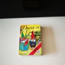 Jeux de cartes: BARAJA DAVID EL GNOMO FALTAN 4 CARTAS INCOMPLETA SIN CAJA FOURNIER DIBUJOS ANIMADOS INFANTIL. Lote 221130341
