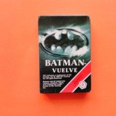 Barajas de cartas: BARAJA BATMAN VUELVE, AÑO 1992 - NUEVA A ESTRENAR LEER DETALLE!!! - ERICTOYS. Lote 201661328