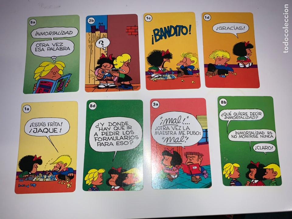BARAJA MAFALDA FOURNIER 1989 INCOMPLETA (Juguetes y Juegos - Cartas y Naipes - Barajas Infantiles)