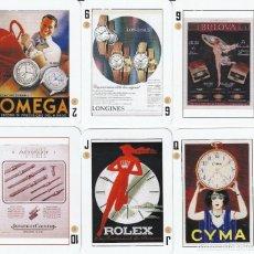 Barajas de cartas: BARAJA POKER ESPAÑOL CARTELES PUBLICITARIOS VINTAGE. Lote 201716380