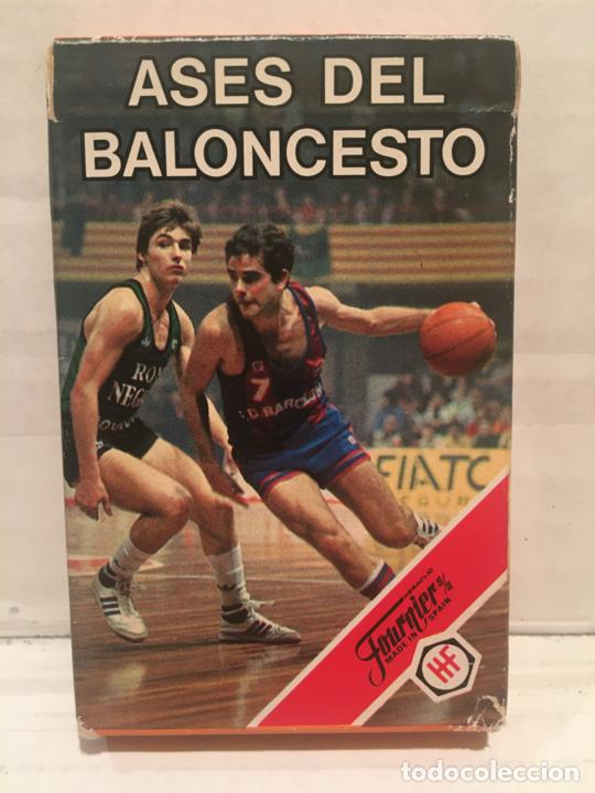BARAJA FOURNIER ASES DEL BALONCESTO AÑO 1985 SIN EXTRENAR (Juguetes y Juegos - Cartas y Naipes - Barajas Infantiles)