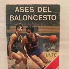 Jeux de cartes: BARAJA FOURNIER ASES DEL BALONCESTO AÑO 1985 SIN EXTRENAR. Lote 202422256