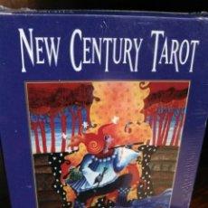 Barajas de cartas: NEW CENTURY TAROT. BY ROLF EICHELMANN.U.S.GAMES SYSTEMS. INC.. Lote 202640357