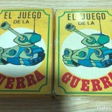 Barajas de cartas: LOTE DE 2 BARAJAS EL JUEGO DE LA GUERRA, 41 CARTAS EN CADA UNA. Lote 202715131