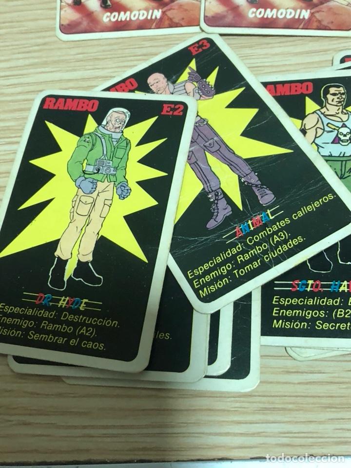 Barajas de cartas: Baraja de cartas de rambo, sin funda, 32 cartas - Foto 5 - 202717596