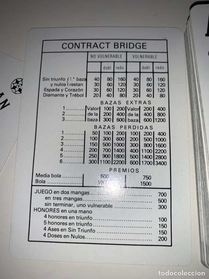 Barajas de cartas: Baraja cartas naipes comas contract brigde bauknetch publicidad - Foto 2 - 202729242