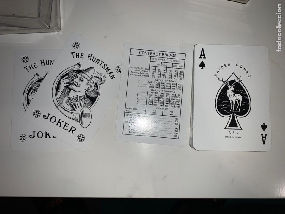 BARAJA CARTAS NAIPES COMAS CONTRACT BRIGDE BAUKNETCH PUBLICIDAD (Juguetes y Juegos - Cartas y Naipes - Otras Barajas)
