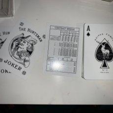 Barajas de cartas: BARAJA CARTAS NAIPES COMAS CONTRACT BRIGDE BAUKNETCH PUBLICIDAD. Lote 202729242