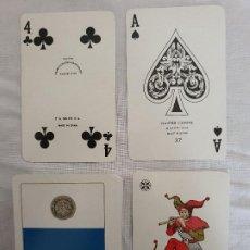 Barajas de cartas: BARAJA DE CARTAS DE POKER, COMAS, PUBLICIDAD DUCADOS. Lote 202742988
