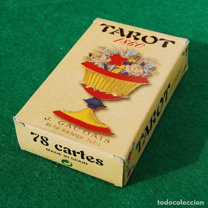 BARAJA TAROT 78 CARTAS - RÉPLICA DE 1860 - J. GAUDAIS, RUE DE LA BANQUE, PARIS - FOURNIER (Juguetes y Juegos - Cartas y Naipes - Barajas Tarot)