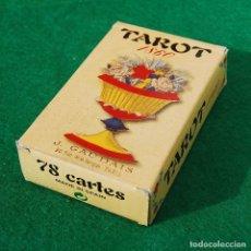 Barajas de cartas: BARAJA TAROT 78 CARTAS - RÉPLICA DE 1860 - J. GAUDAIS, RUE DE LA BANQUE, PARIS - FOURNIER. Lote 202775158