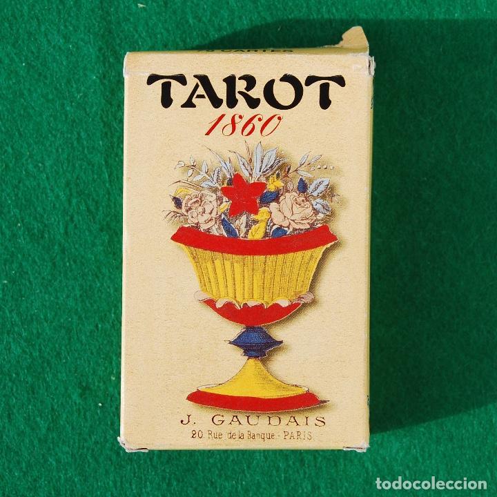 Barajas de cartas: BARAJA TAROT 78 CARTAS - RÉPLICA DE 1860 - J. GAUDAIS, RUE DE LA BANQUE, PARIS - FOURNIER - Foto 2 - 202775158