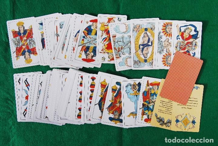 Barajas de cartas: BARAJA TAROT 78 CARTAS - RÉPLICA DE 1860 - J. GAUDAIS, RUE DE LA BANQUE, PARIS - FOURNIER - Foto 3 - 202775158