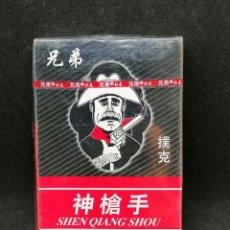 Barajas de cartas: CARTAS CHINAS ORIGINALES SHEN QUING SHOU SIN DES PRECINTAR. Lote 202775496