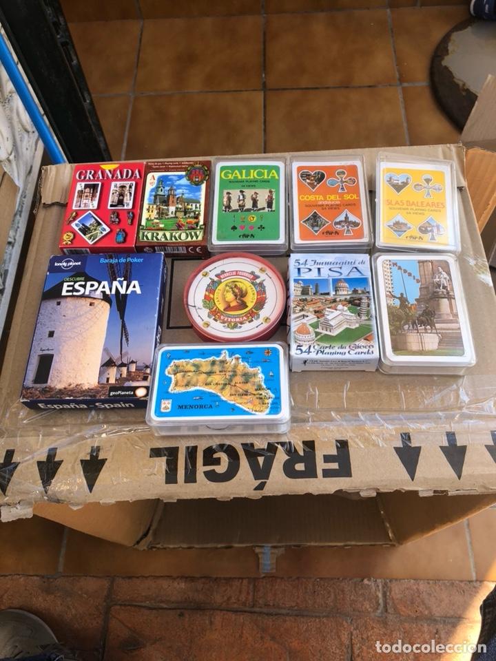 LOTE DE 10 BARAJAS (Juguetes y Juegos - Cartas y Naipes - Otras Barajas)