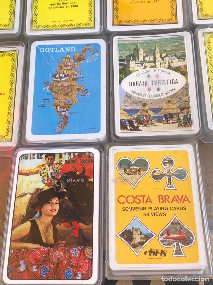 Barajas de cartas: Lote de 10 barajas - Foto 8 - 202787853