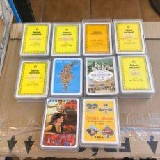 Barajas de cartas: LOTE DE 10 BARAJAS. Lote 202787853