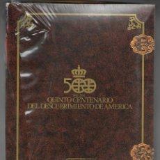 Barajas de cartas: ESTUCHE QUINTO CENTENARIO DESCUBRIMIENTO AMERICA, PRECINTADO.. Lote 202852216