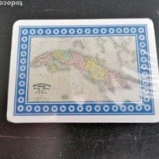 Barajas de cartas: NAIPES CARTAS BARAJA COMPLETA CUBA NELSON MANDELA PRECINTOS ORIGINALES SIN ABRIR. Lote 202853053