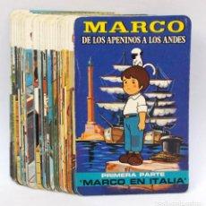 Jeux de cartes: NAIPES, BARAJA INFANTIL 30 CARTAS MARCO DE LOS APENINOS A LOS ANDES 1ª PARTE MARCO EN ITALIA. TAURUS. Lote 202863318