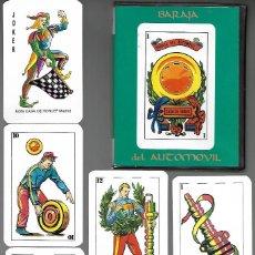 Barajas de cartas: BARAJA DEL AUTOMOVIL DE DANI, CASA HORUS CON SU ESTUCHE TIPO LIBRO 1992. NUEVA.. Lote 202899905
