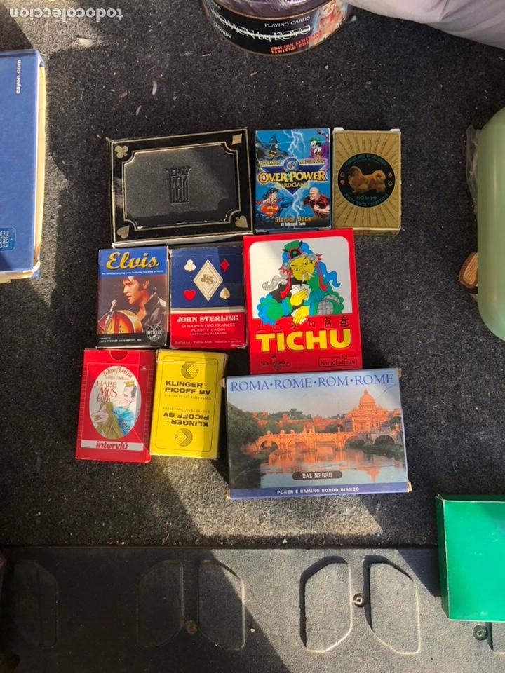 LOTE DE 9 BARAJAS (Juguetes y Juegos - Cartas y Naipes - Otras Barajas)
