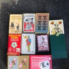 Barajas de cartas: LOTE DE 9 BARAJAS. Lote 202903322