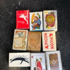 Barajas de cartas: LOTE DE 9 BARAJAS. Lote 202904457