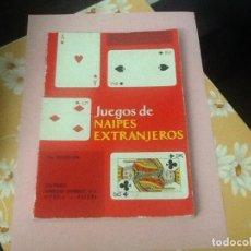Barajas de cartas: JUEGOS DE NAIPES EXTRANJEROS FOURNIER. Lote 203199242