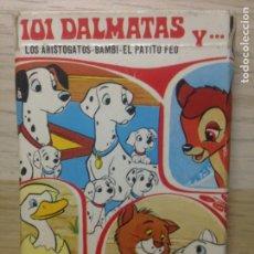 Barajas de cartas: 101 DALMATAS Y...ARISTOGATOS-BAMBI-EL PATITO FEO-WALT DISNEY-FOURNIER 1983-COMPLETA.MUY BUEN ESTADO. Lote 203203420