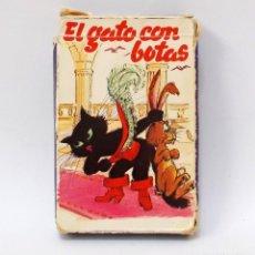 Barajas de cartas: BARAJA INFANTIL - EL GATO CON BOTAS. Lote 203241180