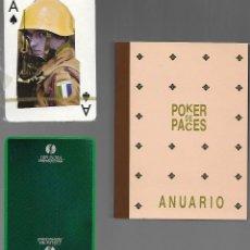 Jeux de cartes: BARAJA POKER DE PACES, 52 CARTAS + 2 COMODINES + 2 PRESENTACION. DIFUSORA INTERNACIONAL. 1988. Lote 203248622