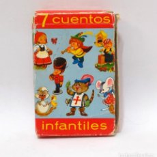 Barajas de cartas: BARAJA INFANTIL - FOURNIER - 7 CUENTOS INFANTILES. Lote 203282363