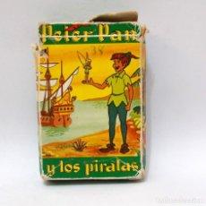 Barajas de cartas: BARAJA INFANTIL - FOURNIER - PETER PAN Y LOS PIRATAS. Lote 203282443