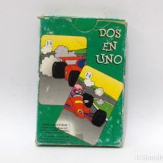 Barajas de cartas: BARAJA INFANTIL - DOS EN UNO. Lote 203282958
