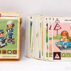 Barajas de cartas: BARAJA INFANTIL - LAS SEÑALES - FOURNIER. Lote 203284315