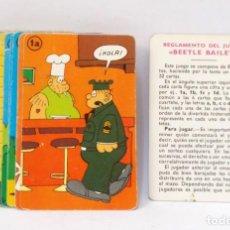 Barajas de cartas: BARAJA INFANTIL FOURNIER - SARGENTO BEETLE. Lote 203287046
