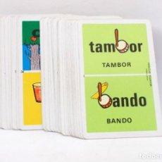 Barajas de cartas: BARAJA INFANTIL - DOMINO ORTOGRAFICO - FOURNIER. Lote 203287588