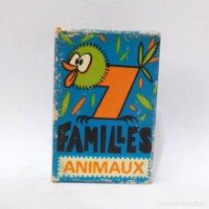 Barajas de cartas: BARAJA DE CARTAS - FRANCESA - 7 FAMILIAS - ANIMALES. Lote 203289238