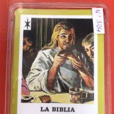 Jeux de cartes: BARAJA FOURNIER LA BIBLIA NUEVO TESTAMENTO. Lote 203565545